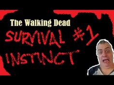The walking dead (Survival instinct) Survival Instinct, The Walking Dead, Youtube, Movie Posters, Movies, 2016 Movies, Film Poster, Films, Popcorn Posters