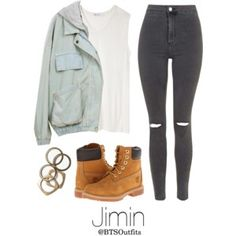 Jimin Inspired w/ Timberlands