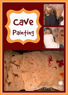 Life with Moore Babies: Cave Painting