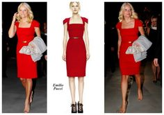 Mette Marit's gorgeous red dress by Emilo Pucci