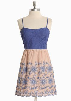 Fantasy Floral Lace Dress | shopruche