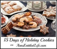 15 Days of Holiday Cookie Recipes