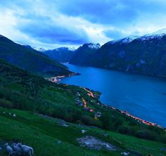 http://sterling.eu . The Aurlandsfjord in Sogn, Norway #amazing  #magic,  moutain