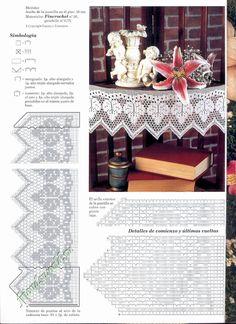 Muestras y Motivos ganchillo №107 салфетки, скатерти, занавески, покрывала.. Обсуждение на LiveInternet - Российский Сервис Онлайн-Дневников