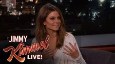Pin for Later: Maria Menounos's Engagement Ring Is Just as Crazy-Big as Her Proposal Story Maria Describes Her Proposal on Jimmy Kimmel Live!