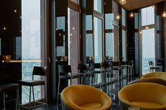 Panoramablick über Hamburg in der Bar 11 im Hyperion Hotel Hamburg
