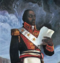 General François-Dominique Toussaint Louverture was a former slave who became the leader of the Haitian Revolution. Under his leadership, Haiti became the first postcolonial black-led nation in the world.