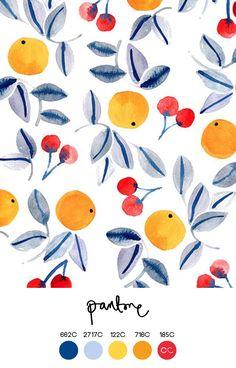 Ideas Fruit Pattern Design Orange For 2019 Wallpaper Background Design, Pattern Wallpaper, Wallpaper Backgrounds, Wallpapers, Modern Wallpaper, Art And Illustration, Pattern Illustration, Illustrations, Orange Pattern