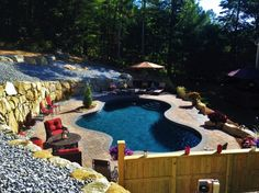 Aqua Pool provides expert service when it comes to any type of pool build. - Travel tips - Travel tour - travel ideas Gunite Swimming Pool, Swimming Pool Designs, Aqua Pools, Pool Companies, Travel Tours, Travel Ideas, Pool Installation, Building A Pool, Best Build