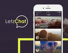 """Check out new work on my @Behance portfolio: """"Letz Chat - Mobile app"""" http://be.net/gallery/44040055/Letz-Chat-Mobile-app"""