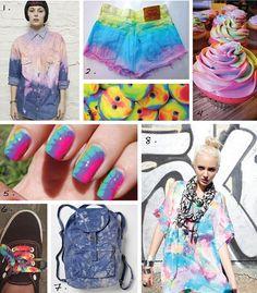 tie dye trend - Buscar con Google