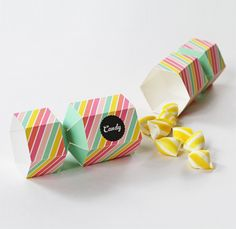 Candy Favour Box printable