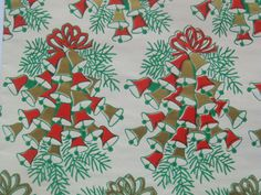 Vintage Gift Wrapping Paper  Clusters of by TheGOOSEandTheHOUND, $6.00
