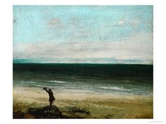 Courbet. Palavas of the Artist by the Sea.