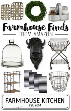 Farmhouse Home Decor from Amazon!