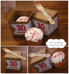 30th bday favor idea