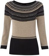 Womens Knitwear Fairisle Jumper Sweater Pullover Winter Casual Ladies Black Womens Knitwear, Jumper, Canada, Pullover, Crop Tops, Lady, Casual, Sweaters, Fashion