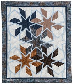 Barbara H. Cline ––    8 dynamic quilts from 1 easy-to-sew blockTurn a single block into eight distinctive quilts—the magic is in the fabric! Best-selling author and well-known teacher Barbara H. Clin