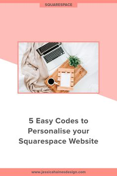 5 Easy Codes to Personalise your Squarespace Website Website Footer, Coach Website, Building A Website, Create Website, Letters And Numbers, Easy, Create Yourself, Coaching, Creative