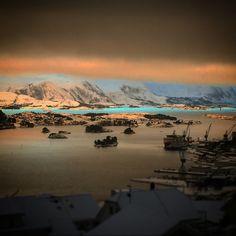 Norway Ulsteinvik snow