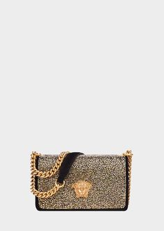 f435bf3092f0 Black and Glod Versace Bag Palazzo