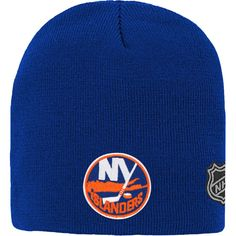 premium selection 32ce6 a5a2a Youth New York Islanders Royal Basic Knit Beanie,  14.99 New York Islanders,  Knit Beanie