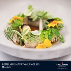 Benjamin Mauroy-Langlais will represent Canada with his winning dish of smoked eel and celeriac entitled 'Spring in Kamouraska.'