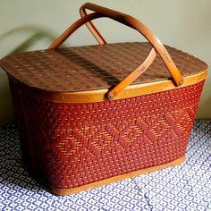 Vintage Picnic basket.