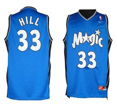 separation shoes 78f01 16fe8 Magic  33 Grant Hill Blue Throwback Stitched NBA Jersey Nike Shoes Online,  Discount Nike