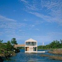 Casa galleggiante: sul lago Huron