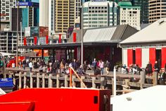 North Wharf Buildings: Auckland, New Zealand