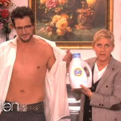 Luke Bryan, where's your shirt?