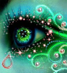 Eyes glitter gifs