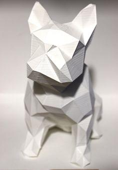 Bulldog - ORBITALE. www.imprimerieorbitale.fr Découvrez l'impression 3D, autrement.