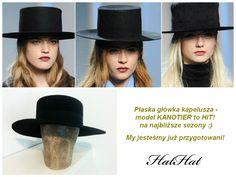 Kapelusz kanotier na jesień 2014/2015 hat