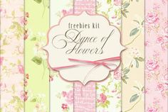 New Freebies Kit - Dance of Flowers