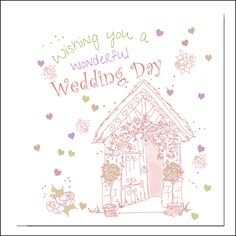 Wonderful Wedding Day  Card
