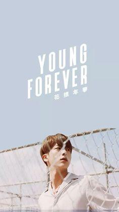 Jin #BTS #YoungForever wallpaper