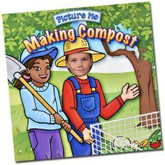 Composting garden-composting