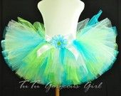 Tutu-love this color combination also