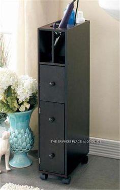 Space Saver Bathroom Storage Organizer Cabinet Small Appliance Holder |  EBay | Budget NYC Bathroom | Pinterest | Storage Organizers, Space Saver  And ...