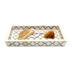 Amara - Prescott Tray Grey/White - Medium $271