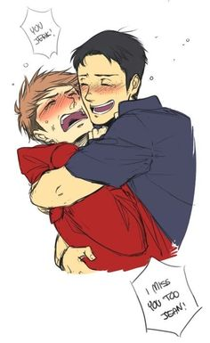 Jean Kirstein x Marco Bott #aot #snk I think I ship these two way too much
