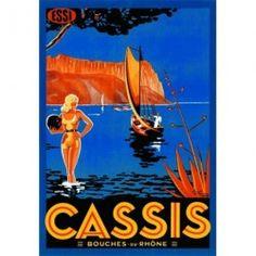 Scène d'été - Cassis