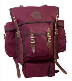 Wildland Firefighter Pack Backpack http://backpackstyles.com/types-duluth-backpacks-unleash-scoutmaster/