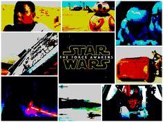 Star Wars: The Force Awakens - 8-bit trailer