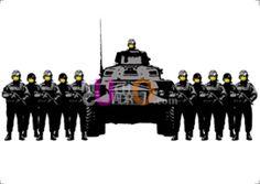Réplicas de Banksy por sólo 4.99 en Muchocuadro.com!