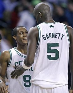 KG and Rondo named starters to the 2013 All-Star game
