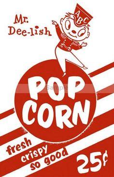 Cross Stitch Pattern Vintage Retro Fresh Crispy Popcorn wall Art Handmade PDF Hand Embroidery Needle Craft
