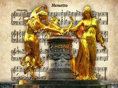 'Mozartbrunnen+Dresden+'+von+Dirk+h.+Wendt+bei+artflakes.com+als+Poster+oder+Kunstdruck+$18.03